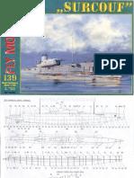 Surcouf French Submarine