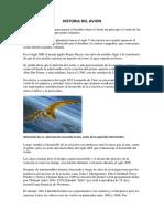 Historia Del Avion