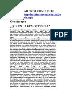 Gemoterapia - Chakras y Piedras