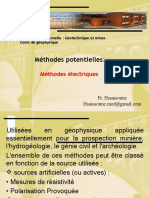 Principes de La Methode Electrique