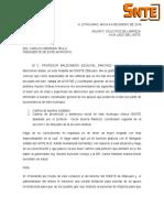 carta de peticion ejemplo