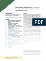 Programa Nvivo - Dados Qualitativos. CORNELIUS. O COntROlE JuRíDicO-pEnal de ADOlEscEntEs.