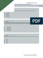 Matemática Financeira - Avaliando o Aprendizado - Aulas 1, 2, 3, 4, 5, 6, 7, 8, 9 e 10 - By SM (1)