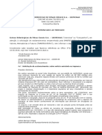 Esclarecimentos Sobre Consultas CVM/BOVESPA