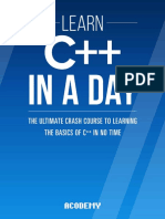Learn C++ In A DAY