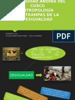 Las Trampas de La Desigualdad. Universidad Andina Del Cusco