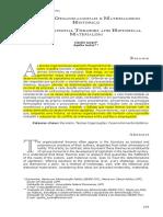 Teoria Das Organizações e Materialismo Histórico