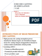 High Pressure Die Casting Defects and Simulation Process