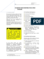 Section F CFBC Startup Procedure R00