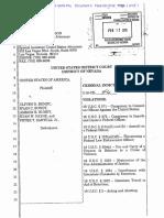 US v. Bundy, Bundy, Bundy, Payne, Santilli