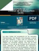 Gestion Cadena Suministros Scm