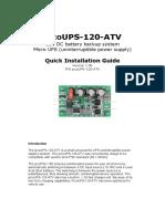 Pwr Picoups 120 Atv Manual