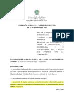 In Pmerj Nº 013 Confecção de Documentos Relativos a Planejamento