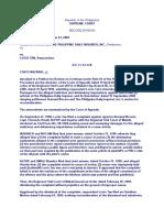 Civil Procedure Cases (Until Pre-Trial)