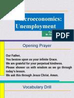 Macroeconomics UNEMPLOYMENT 1610