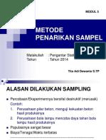 Metosde-sampling Ut Bm