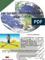 Posición Geográfica de Venezuela Unidad Didactica