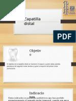 Zapatilla Distal