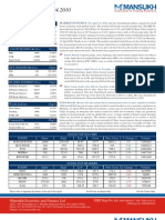 A study on Stock Market Insights by Mansukh Investment and Trading Solutions 15/4/2010