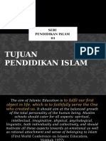 03 Tujuan Pendidikan Islam