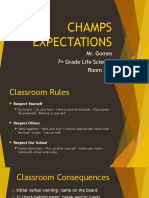 classroom champs ppt