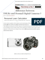 What is the difference between DSLRs and Normal Digital Cameras _.pdf