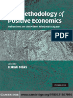 14. LIBRO. Uskali Mäki (2009), The Methodology of Positive Economics