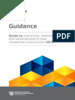 Guide to Tolerances