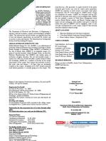 Solar Energy Training Programme - Brochure