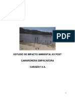 Estudio de Impacto Ambiental Ex Post