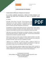 16-01-16 Encabeza Maloro Acosta Jornada Abriguemos Una Esperanza