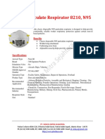 3M 8210 N95 (Respirator)