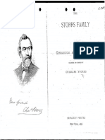 The Storrs Family by Charles Storrs, 1886