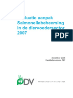 Kwaliteitsreeks Nr. 127 Evaluatie Salmonella in 2007-Nl