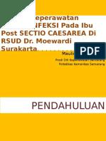 Proposal Askep Resiko Infeksi Post SC