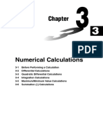 Chapter 3 Numerical Calculations