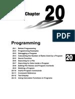 Chapter 20 Programming