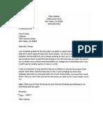 sp mentor letter