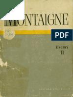 Michel de Montaigne-Eseuri. 2-Editura Științifică (1971)