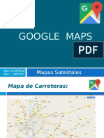 Trabajo Google Maps