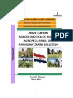Zonificacion Agricola