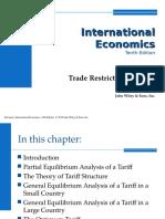Trade Restriction Tariffs