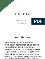Histologi Umum
