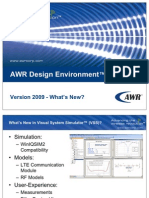 AWRDE 2009 VSS Features