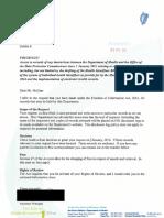 HSE-DPC Correspondence Re IHI FOI