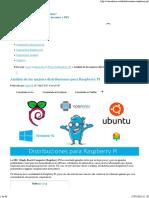 Las mejores distribuciones para Raspberry Pi.pdf