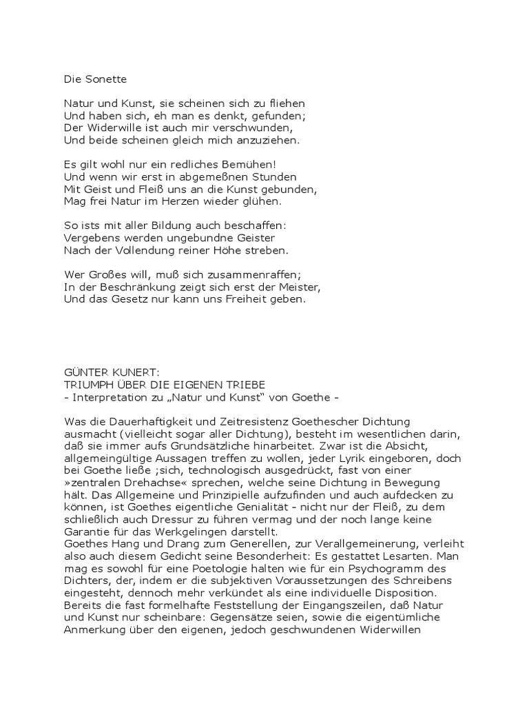 Goethe Das Gottliche Interpretation Fotos Keycastmeko Info