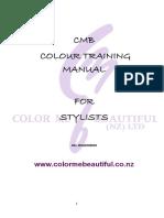 CMB colour training manual