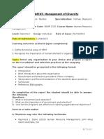 Assignment- HHuma resource