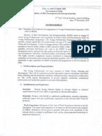 Advt. of YPP